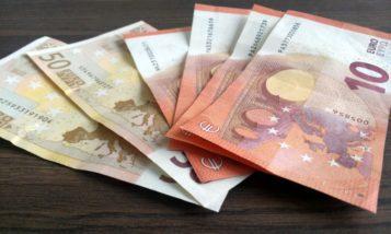 Euro Geldscheine Bargeld