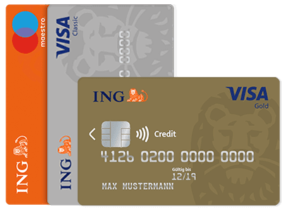Ein Girokonto mit gratis Kreditkarte gibt es bei ING