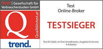 DADAT Online Broker - Testsieger 2020 im ÖGVS Broker-Test